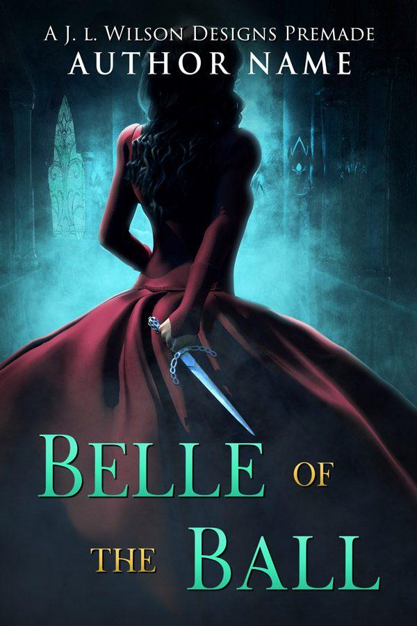 A paranormal fantasy book cover