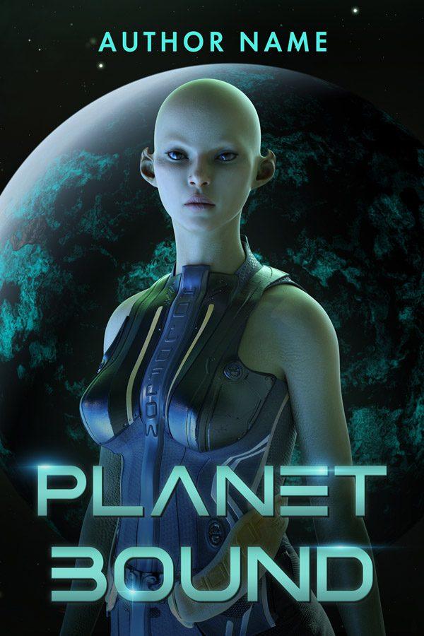 An alien book cover